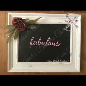 Fabulous! Couture Gallery™ Framed Board
